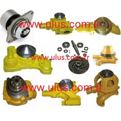 Engine Water pump Komatsu engine spare parts Isuzu Motors, Mitsubishi Motors, Nissan, Cummins Parts, Cummins Motor, Cat Engines, Caterpillar Engines, Engine Pistons, Piston Ring
