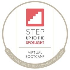 Step Up to the Spotlight - A Kickstart Artist Development Program. A 6 week Virtual Bootcamp for emerging artists + musicians to step up their craft, daily habits + practices and vocal studies.  Includes a 52 week Artist Development Plan. For more information visit: www.caricole.com/programs/stepup