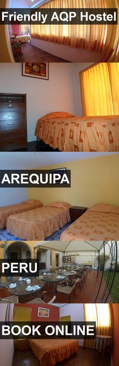Friendly AQP Hostel in Arequipa, Peru. For more information, photos, reviews and best prices please follow the link. #Peru #Arequipa #travel #vacation #hostel