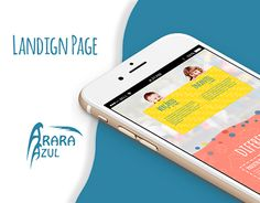 "Check out new work on my @Behance portfolio: ""Landing Page - Escola Arara Azul"" http://on.be.net/1M95Lpa"