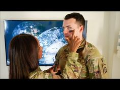 Military Wife Attempts My CAMOUFLAGE FACE PAINT!! || Episode 7 - YouTube Military Families, Military Wife, Camouflage Face Paint, How To Apply, Youtube, Painting, Painting Art, Paintings, Painted Canvas