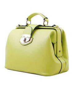 Vintage Green Tote Bag.