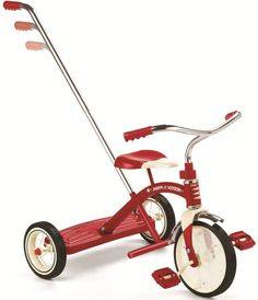 "Radio Flyer, Classic Red 10"" Tricycle mit Schubstange | 435 / EAN:0042385979953"