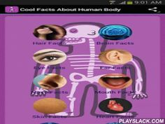 Cool Facts About Human Body  Android App - playslack.com ,  Do you want to learn some cool and fun facts about your body? If yes, you are only a few second away from learning some amazing, weird, useful and interesting facts & trivia about this incredibly complex and intricate system.All the info is sorted in categories like:- Hair- Brains- Skin- Muscles- Nails- Heart - and much more.Did you know that the air from a sneeze can travel at unbelievable speeds of 100 mph (160 kmh) or more?…