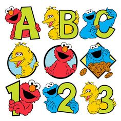 Sesame Street is one of the most beloved children's shows on television. Description from shop.cricut.com. I searched for this on bing.com/images