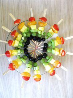 Fruitspiesjes!