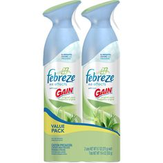 I'm learning all about Febreze Air Effects with Gain Original Scent Air Freshener Value Pack at @Influenster!