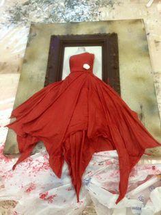 Silia Mannequin Art, 3d Paper Art, Bridal Hangers, Altered Canvas, Sculpture Painting, Leather Art, Resins, Bottle Art, Fabric Art