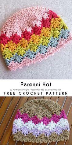 Perenni Hat Free Crochet Pattern | Crafts Ideas