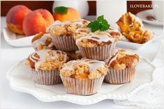 Archiwa: Muffinki - I Love Bake Catering Food, Happy Foods, Mini Cupcakes, Sweet Recipes, Food And Drink, Candy, Meals, Baking, Breakfast