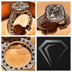 2.00 ct princess cut. My dream ring