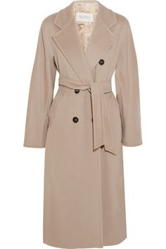MAX MARA Madame Wool And Cashmere-Blend Coat. #maxmara #cloth #coats