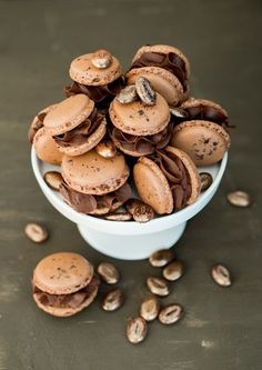 Perfect Cookie Recipes – 20 Baking Tips To Make The Best Cookies Ever - New ideas Easy Cookie Recipes, Easy Desserts, Cake Recipes, Dessert Recipes, Coffee Macaron, Coffee Cake, Dessert Simple, New Cake, Cafe Food