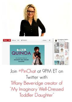 Join #PinChat Wednesday, February 26th at 9PM ET on Twitter with Tiffany Beveridge #MIWDTD