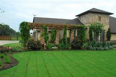 Custom Outdoor Living Area Home Landscape Design Flowermound | by Landscape Design Denton