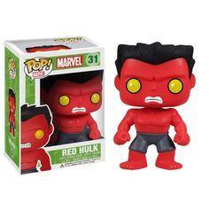 Marvel Pop! Vinyl Bobblehead Red Hulk