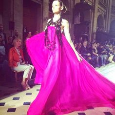 Couture fashion week in Paris