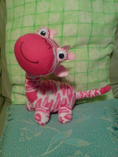 Sock Giraffe3 por JIAMINLIM