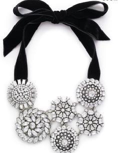 Kate Spade Ice Queen Bib statement necklace.