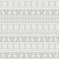 Studio E - Winter Essentials 2 Grey Knitted Sweater - cotton fabric