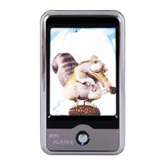 "MP4 Player with FM Digital Camera 16GB 2.8"" TFT-LCD Touch Screen Silver WORLDWIDE FREE SHIPPING  $60.00 free shipping"
