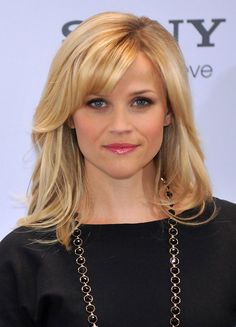 41 New Ideas For Hair Blonde Fringe Reese Witherspoon Headband Hairstyles, Hairstyles With Bangs, Trendy Hairstyles, Fringe Hairstyles, Bangs Updo, Hair Bangs, Updo Hairstyle, Bridal Hairstyles, Hairstyles Videos