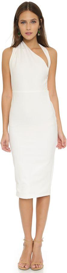 Modern and stunning white dress, Misha Collection Misu Dress