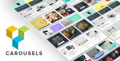 Carousels for Visual Composer by unitecms The best Carousels pack for Visual Composer page builder. Choose from 22 different customisable Carousel layouts we created just for your needs. This pack is truly awesome and unique in its design and usability.Carousel FeaturesFu