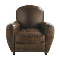 Vintage zetel bruin  Oxford