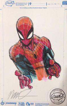 Spider-Man by Humberto Ramos *