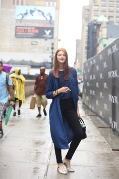 morethanmannequins:    Street Style at New York... - The Streets of Style