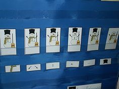 what's missing snowman game  good idea for any topic for speach and language