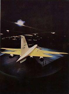 Boeing SST 2707 Mock up