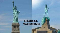 #Globalwarming #libertystatue