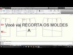 Como Iniciar a Modelagem da saia - Aula 1