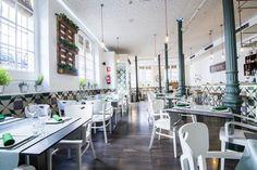 Bacira Restaurante en Madrid: color, reciclaje y calidez - Blog T&D