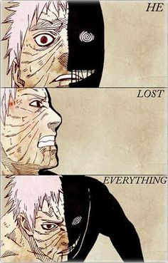 Obito, you are such an inspiration! You overcome everything!