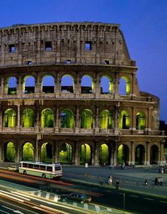 Rome, Italy  The Colosseum or Coliseum, also known as the Flavian Amphitheatre is an elliptical amphitheatre in the centre of the city of Rome, Italy. Wikipedia   Rome, Italy Construction started: 70 AD Area: 6 acres (2 ha) Function: Amphitheater Architectural style: Ancient Roman architecture Architects: Vespasian, Titus