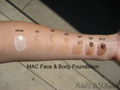 Face And Body Foundation by MAC #18