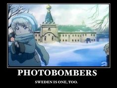 Poor Russia...can't even take a melodramatic picture in peace. #Hetalia