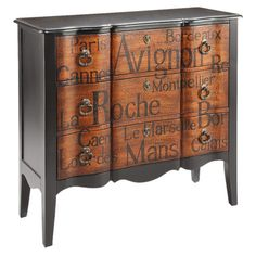 Beautiful Script Chest.