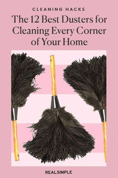 The 12 Best Dusters for Cleaning Every Hard-to-Reach Corner of Your Home   These are the best dusters to reach every inch of your home from hard-to-reach areas like your ceiling fan, blinds, car, hardwood floors, and other areas that attract dust. Plus, you can buy all of these top-rated dusters online from Amazon and Target. #cleaningtips #cleanhouse #realsimple #stepbystepcleaning #cleaninghacks #cleaningguide House Cleaning Tips, Cleaning Hacks, Eco Friendly Cleaners, Reliable Cars, Ideal Tools, Dusters, Laundry Hacks, Clean Microfiber, Blinds For Windows