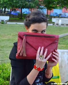 Me and my red envelope #bag