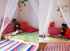 Easy floor bed