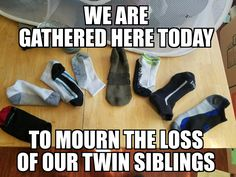 We are gathered here today to mourn the loss of our twin siblings.