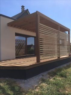 PESQUEUX-Rahmen Even though age-old inside principle, this pergola continues to be encountering somewhat Modern Pergola, Outdoor Pergola, Backyard Pergola, Outdoor Areas, Outdoor Decor, Backyard House, Small Backyard Landscaping, Patio Deck Designs, Patio Design