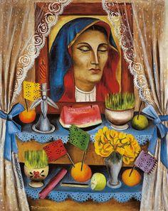 Marían  Izquierdo Viernes de Dolores, 1944 - 45  Oleo / tela