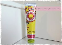 Figs & Rouge Cherry Blossom Lip Balm - review by Beauty Best Friend