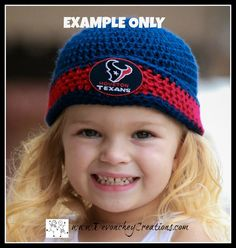 CUSTOM Sports Beanie Infants through Adult by DevoncheyCreations Infants, Patches, Crochet Hats, Beanie, Trending Outfits, Handmade Gifts, Sports, Etsy, Vintage