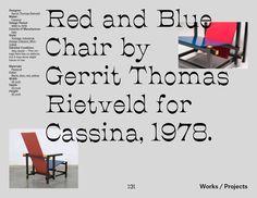 Gerrit Rietveld – Editorial on Behance
